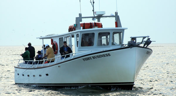 Orient Point Fishing Charter Boat